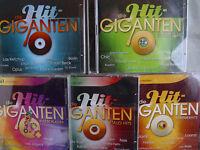5 x Hit-Giganten/ Hitgiganten- zus.10 CDs- Bitte lesen!
