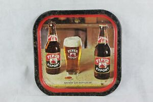 Vintage Piper Export beer tray by Tennents Caledonian Brewery