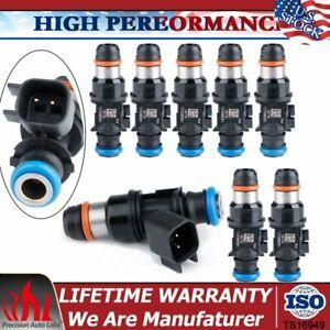 8pcs Fuel Injectors For 2007-2009 Chevy Silverado Suburban GMC Sierra 1500 3500