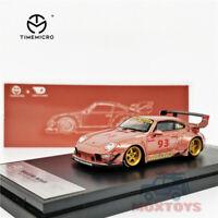 Time Model x Ghost Player 1:64 Prosche RWB 993 2020 Adriana Rose Gold 93 Car