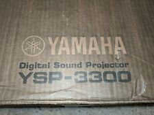 New SEALED Yamaha YSP-3300 Digital Sound Projector & Wireless Active Sub-woofer