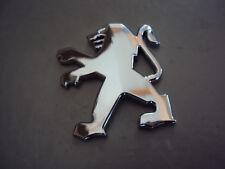 Peugeot Löwe Emblem chrom Sticker 5 x 4,5cm Speedfight 1 & 2  Buxy  Jetforce neu