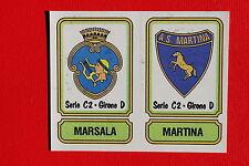 Panini 1981/82 SCUDETTO N. 561 MARSALA MARTINA CON VELINA OTTIMO EDICOLA!!