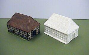 6mm German 18th Century Barn (Code 20/LE4)