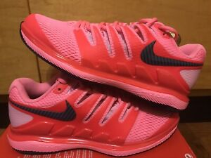 Nike Air Zoom Vapor Womens Size 5 Tennis shoes Nadal Pink Red AA8027 604 Rare