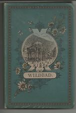 Wildbad souvenir 12 photos 19th century Lautz Darmstadt Germany