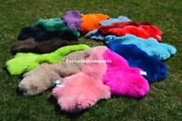 Sheepskin dyed Genuine Sheepskin rug Sheep skin 13 color soft wool