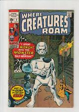 Where Creatures Roam #2 VG 1970 Marvel Comic Kirby  Bald Mountain