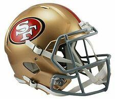 Riddell NFL Full Speed Replica Football Helmet - San Francisco 49ers