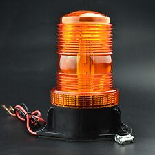 30LED amber Strobe Warning Beacon Light Roof for school bus Truck trailer 9-30v