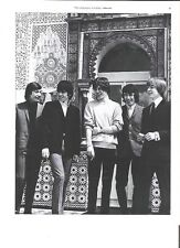 ROLLING STONES outside a temple magazine PHOTO / mini Poster 10x8 inches