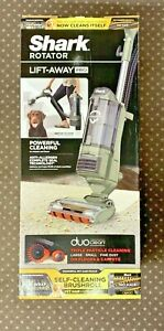 Shark Rotator LiftAway DuoClean Zero-M Upright Vacuum Pet Sage Green ZU782 - NEW