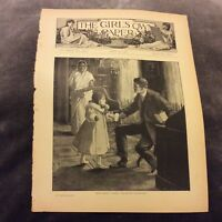 Antique Book Print - You're My Valentine - 1908