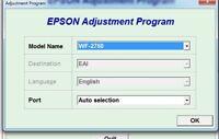 Reset Epson Workforce 2750, Workforce 2760 + Generator Serial full Keygen