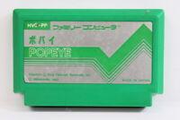 POPEYE Nintendo FC Famicom NES Japan Import US Seller F2353