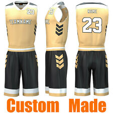 Throwback Cooldry School Basketball Jersey Sets Sports Wear Team Uniform 138