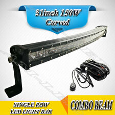 31'' 150W CREE LED WORK LIGHT BAR OFFROAD For ATV UTE 4X4 SUV TRUCK DRIVING LAMP