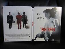 Seven [UK] Premium Collection Blu-Ray Steelbook Open Mint Region Free RARE