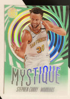 2019-20 Illusions #9 Stephen Curry MYSTIQUE Emerald  Green Acetate SSP- MINT! 🔥