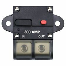 300A Amp Manual Reset Inline Circuit Breaker Platinum Terminal Block Marine Auto