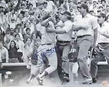 kc Royals GEORGE BRETT Signed 16x20 Photo #1 AUTO - HOF '99 1985 WS Champ - JSA