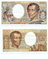 Gertbrolen  200 Francs MONTESQUIEU  de 1990  J.114