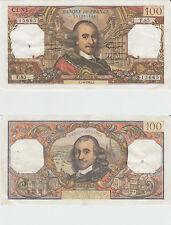 Gertbrolen 100 FRANCS CORNEILLE du 1-4-1965   F .85  Billet N° 0210515665