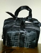 *NEW* SET of 3 MATCHING BLACK COSMETIC BAGS - GREAT TRAVEL SET - LAST SET!!