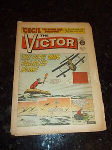 VICTOR Comic - Issue 377 - Date 11/05/1968 - UK Paper Comic