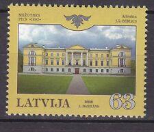 LATVIA 2008**MNH SC#  724  Mezotnes Palace
