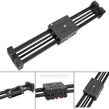 DSLR Camera Video Slider Dolly 50cm Track Rail Stabilizer 100cm Sliding Alloy