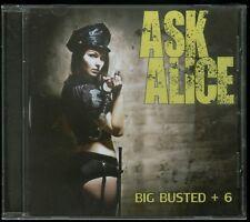 Ask Alice Big Busted CD new Indie Hair Metal reissue