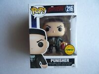 Free shipping! Funko Pop Marvel Daredevil Punisher #216 Chase LIMITED EDITION