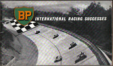 BP International Racing Successes 1956 Racing Rally Grand Prix Motor Cycle +