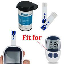 Diabetic Blood Glucose Test Strips Blue 50 Pcs+50 Free Lancets Health Care TOOLS