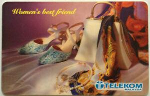 Malaysia Used Telekom Phone Card : Women's Best Friend