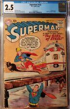 Superman #123 DC CGC 2.5 ~ 1st Supergirl prototype CGC 2.5 ~ KEY