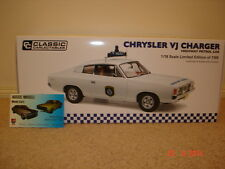 1:18 Classic Chrysler VJ Charger Highway Patrol Car LTD 1100 made only Police