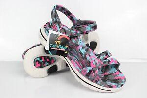 Skechers Women's Foamies GOwalk 5 Riptide Sandals Black Multi # 111102