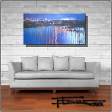 ABSTRACT PAINTING Canvas WALL ART Large, Framed,  Listed by Artist  ELOISExxx