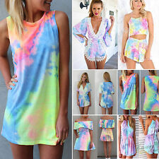 Womens Sexy Casual Playsuit Party Evening Summer Romper Dress Jumpsuit Shorts