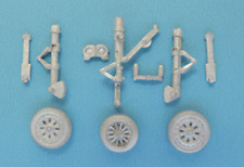 T-33 Landing Gear For 1/72nd Scale  Platz/ Sword Models SAC 72048