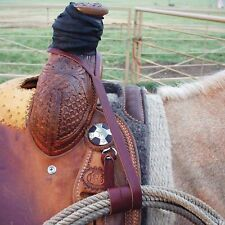 "courts rope strap burgundy  1/2"" x 32"" USA made,cowboy tack,western"