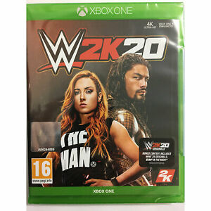 WWE 2K20 XBOX ONE - IN STOCK NOW - New and Sealed W2K20 Wrestling