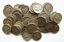 Borsa di U.S.A 50 SILVER MERCURIO CENTESIMI unresearched Date 1