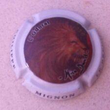 Capsule de champagne MIGNON Philippe L'Odorat (33b. lion)