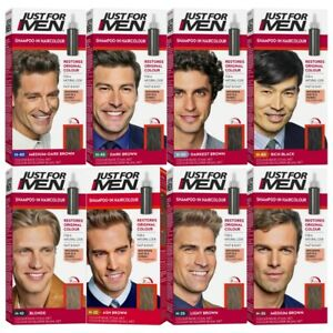 Just for Men Shampoo-In Hair Colour Kit Restores Original Colour Natural Look