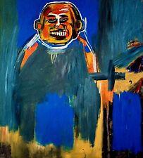 Jean-Michel Basquiat, oiseau comme Bouddha 1984, Main Signé Lithographie 80/100