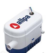 Allpa Lenzpumpe mit Schwimmerschalter 12v Bilgenpumpe Tauchpumpe