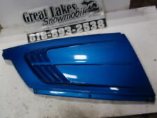 Polaris Indy Classic 500 Twin Snowmobile Engine Hood Side Cover Evolved Blue